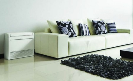 compact floor console units
