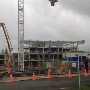 Lake Pupuke Building A Under Construction