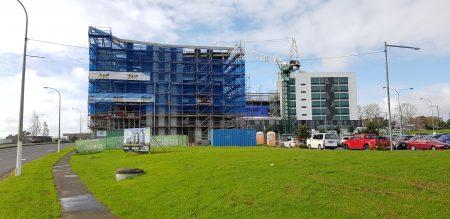 Highbrook, Building 6 under construction