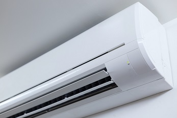 High wall air conditioning unit